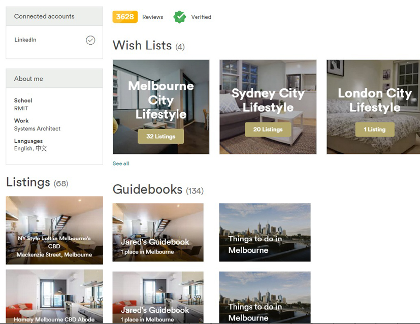 Host AirBnB with 68 Listings